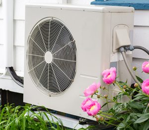 Air Conditioning Unit Outside Southern NH Home